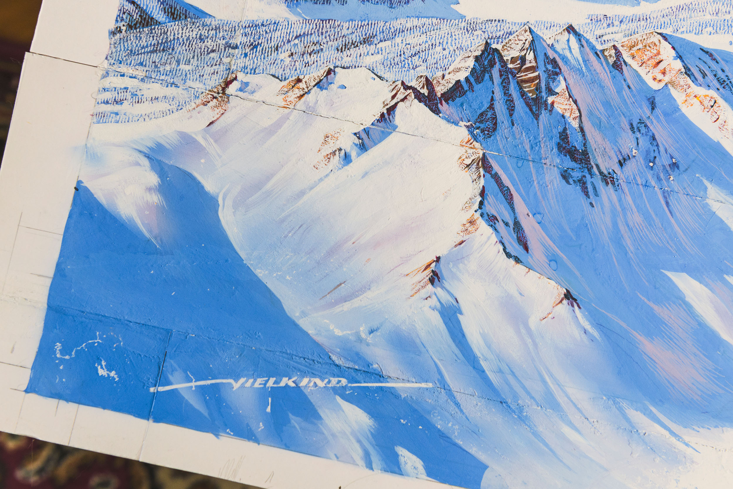 Panoramamaler Heinz Vielkind, Innsbruck