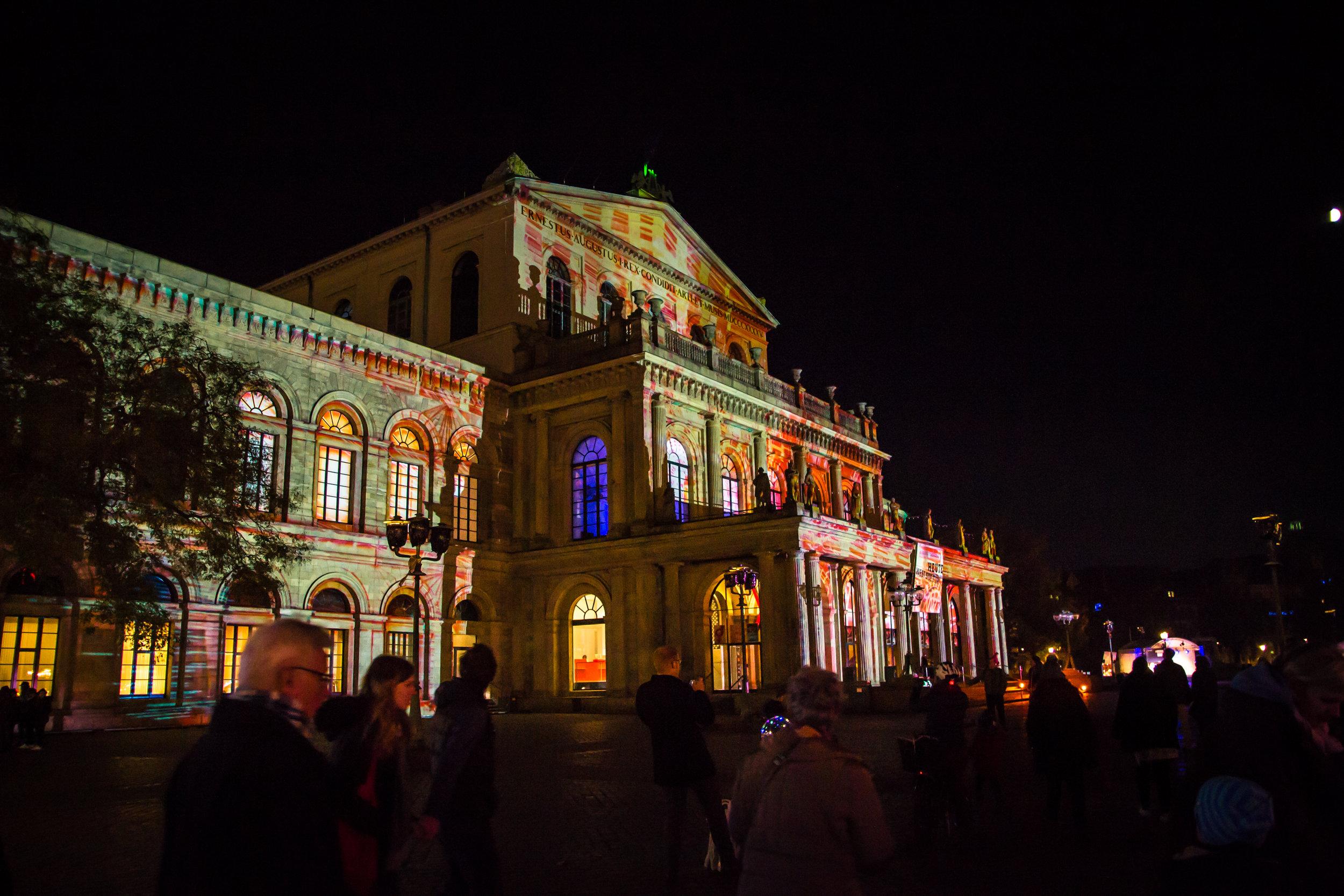 Laser Facade on Opera House