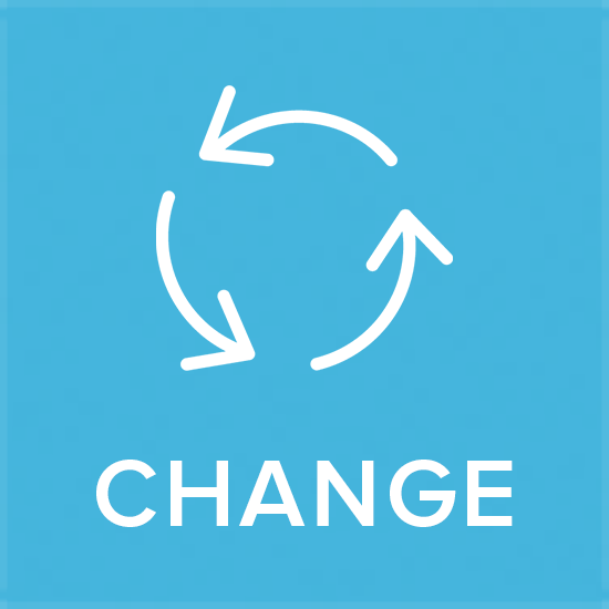 - Change is certain. Buy-in is not. Our agile approach to organizational change is an on-going capability complimenting iterative business cycles demanded by competitive markets.