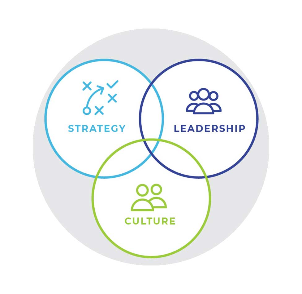 Leadership Development Strategies - We bring the best of strategy design tools and couple it with leading practices in leadership development to help your team design a leadership strategy.