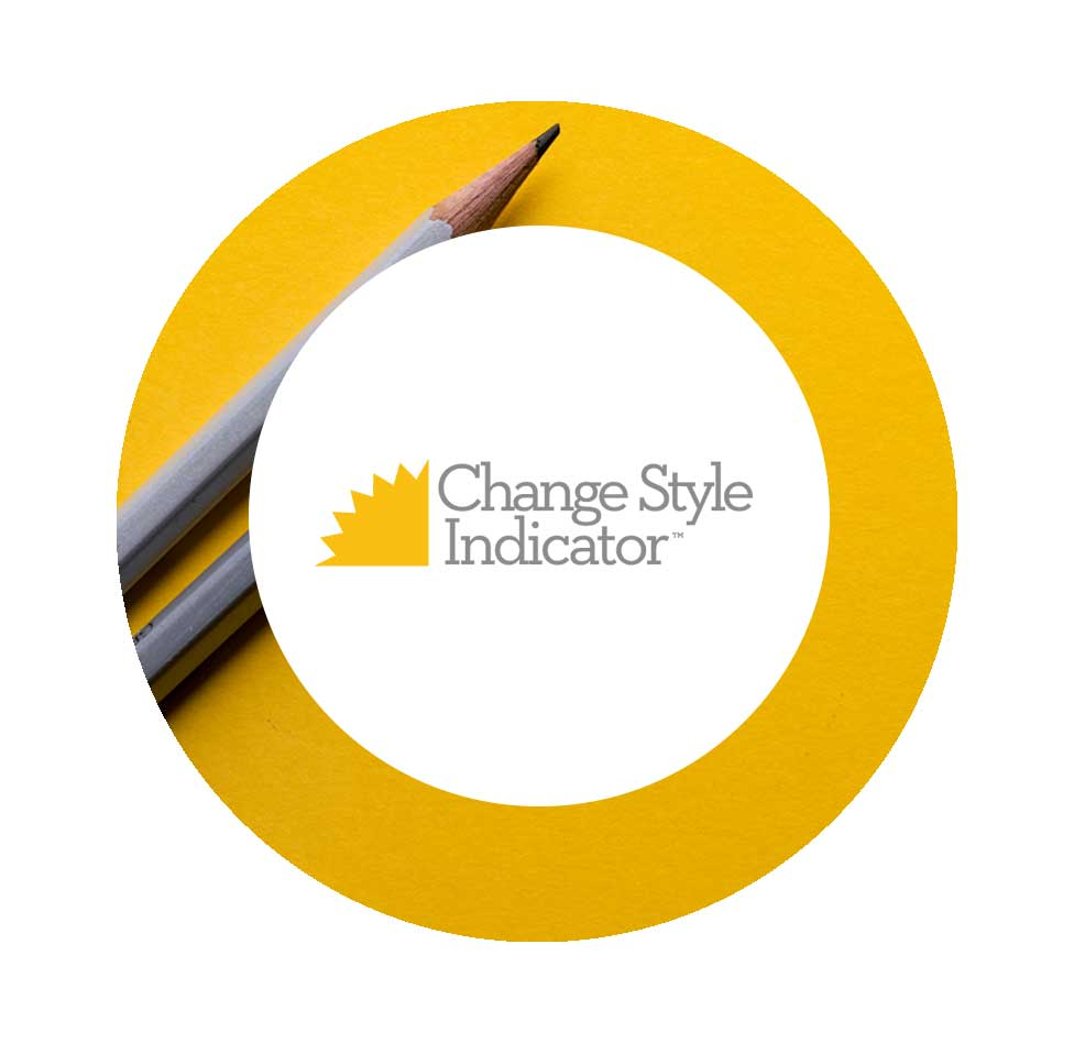 Change Style Indicator - An individual and team assessment instrument to identify participant's change style. The instrument provides personal profile, style definitions, and tips for engaging and teaming with others of different styles.