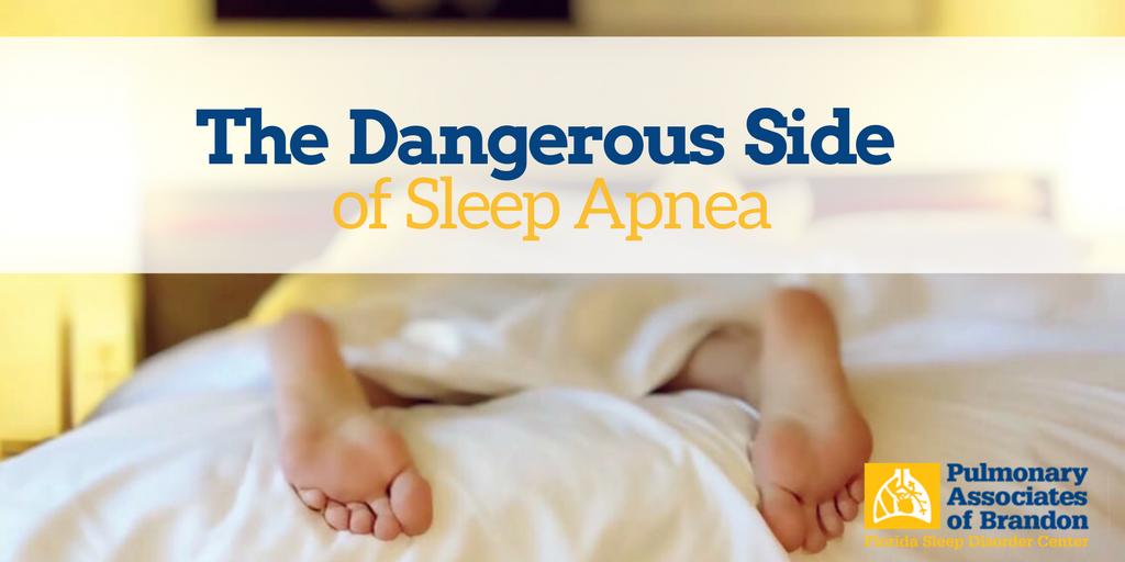 dangerous side of sleep apnea