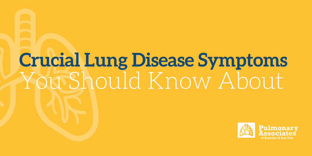 Crucial Lung Disease Symptoms You Should Know About, Warning Signs of Lung Disease, Symptoms of Pulmonary Issues