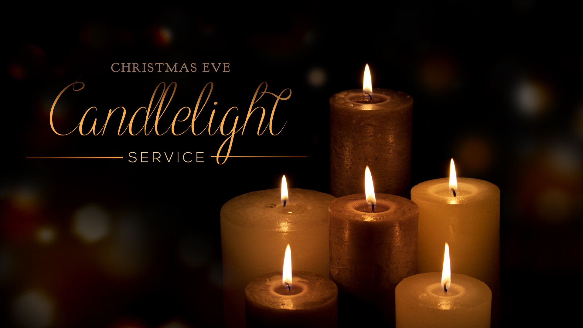 Join us for a time of celebrating our Savior's birth as we hear the Christmas Story read from the Bible and sing song's of praise to God for sending His Son to earth.