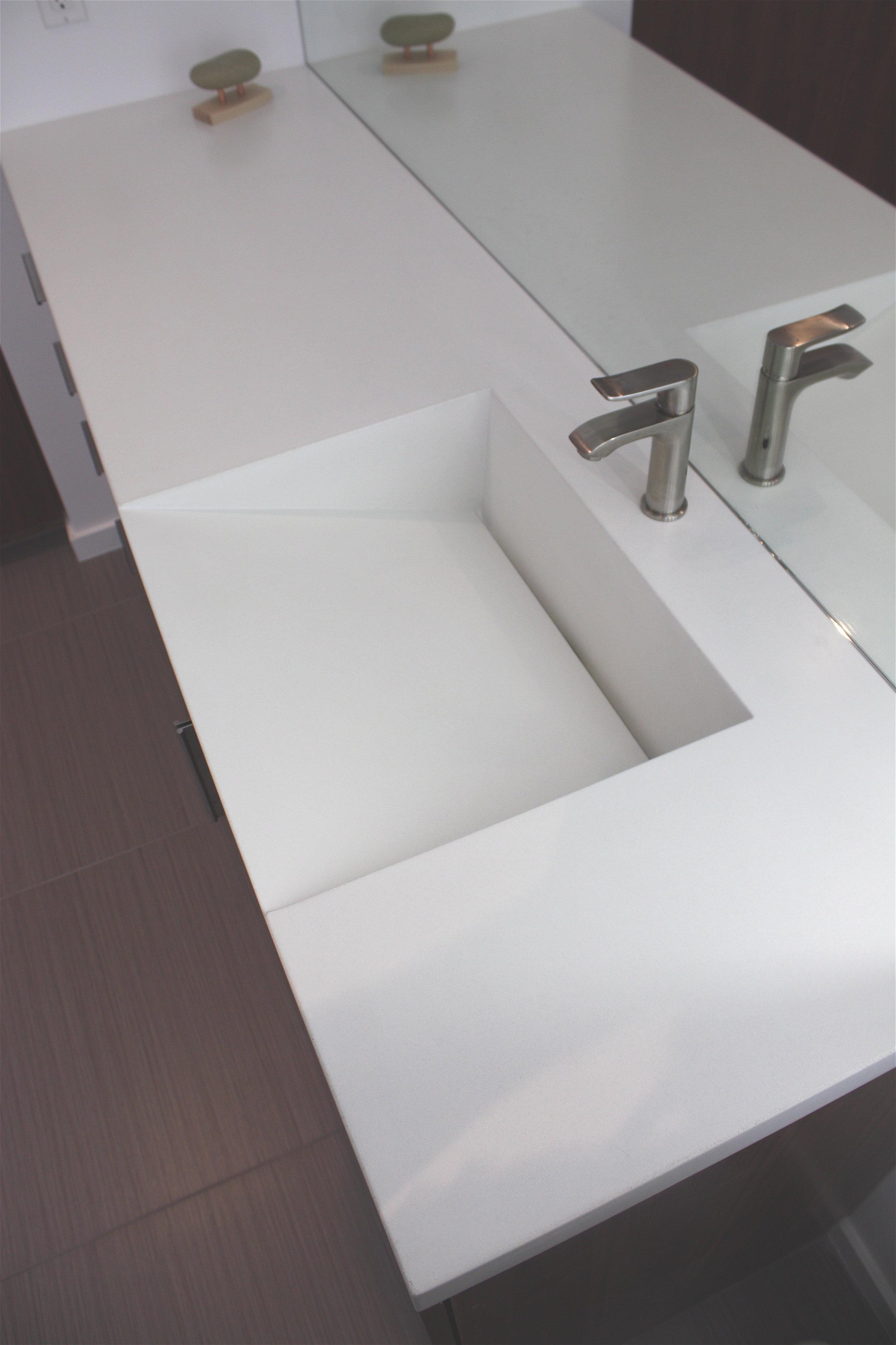 Concrete Sinks Bathroom Concrete Countertops Studio Make