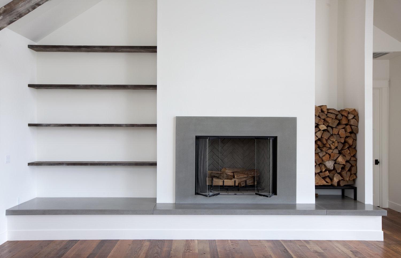 Concrete Fireplaces, Custom Fireplace, Concrete Fireplace ...
