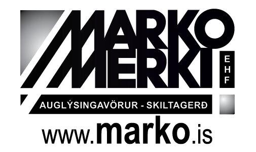 Marko merki - Auglýsingavörur, skiltagerð, verðlaunagripir, fatamerkingar, fánamerkingar o.fl.NÁNAR.