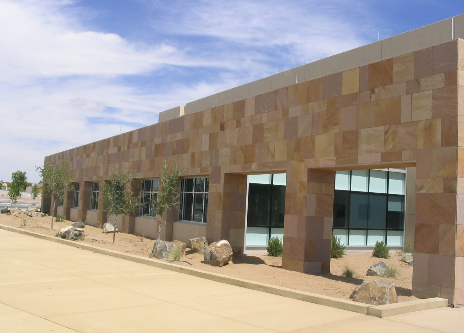 Retail Complex –Painted Desert Sandstone
