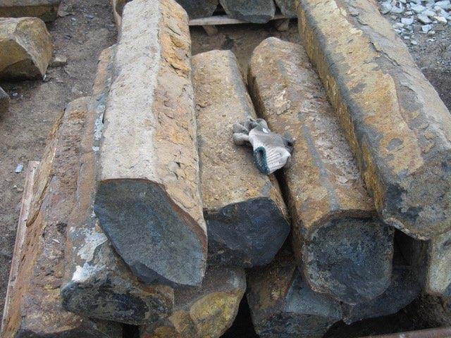 Natural Basalt Posts