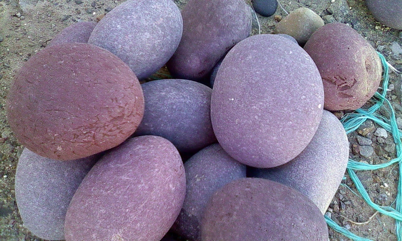 Red Beach Pebbles