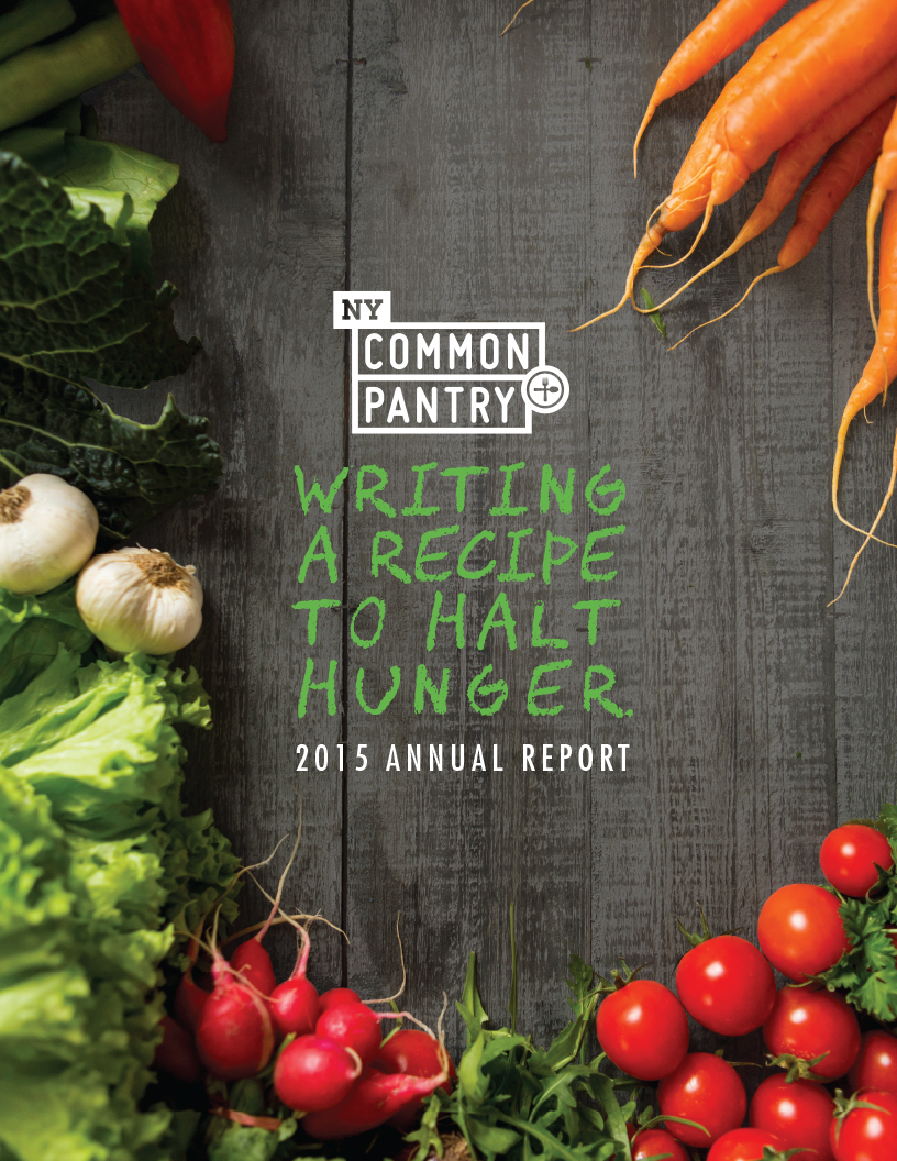 New York Common Pantry Annual Report by Petting Zoo