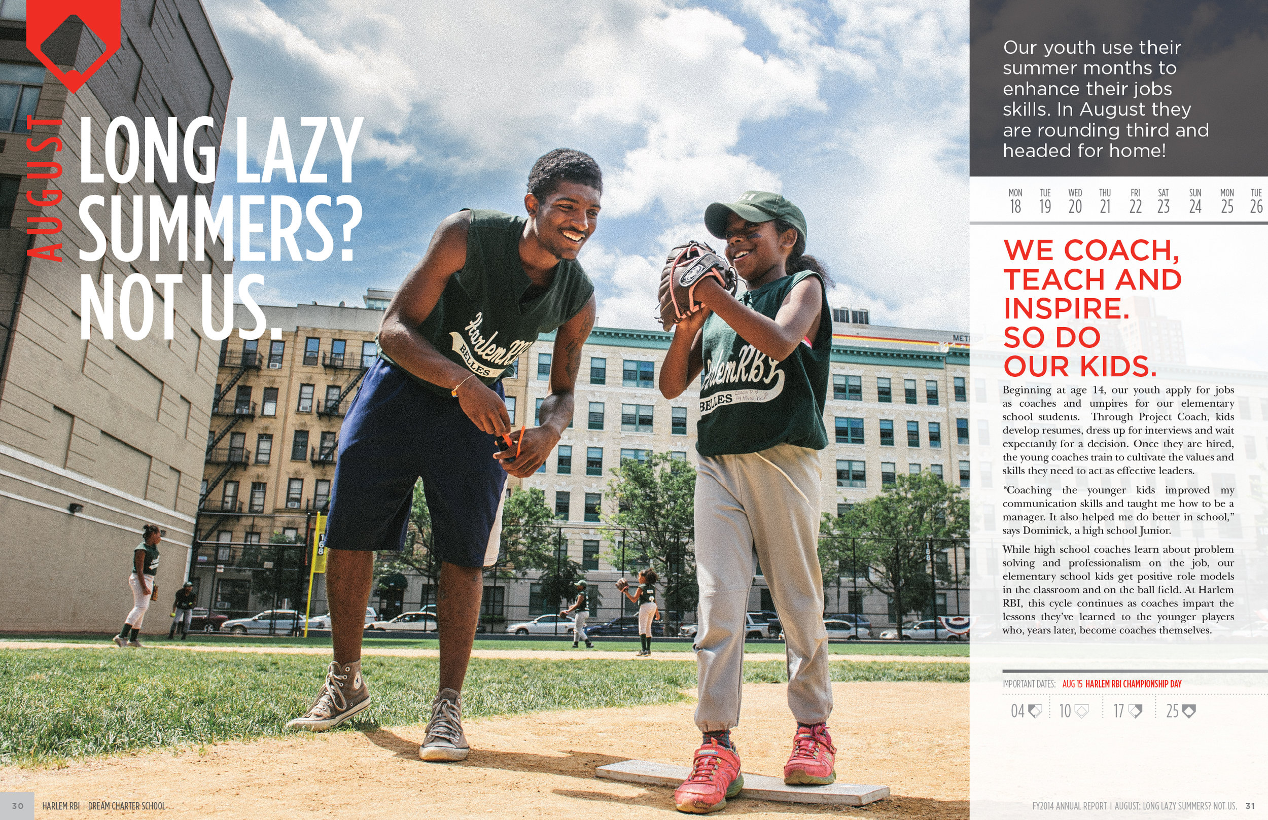 Harlem RBI Annual Report by Petting Zoo