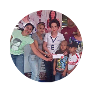 BADAN LARA  Support +4000 in the city of Barquisimeto families to prevent cancer and chronic oncological diseases.