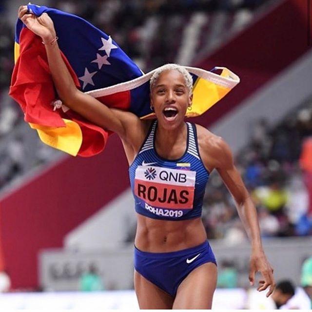 @yulimarrojas45 YulimarRojas es nominada por la IAAF como una de las 11 deportistas femeninas para ser elegida como la atleta del año 2019 💛💙♥️ #Venezolana #weloveVenezuela
