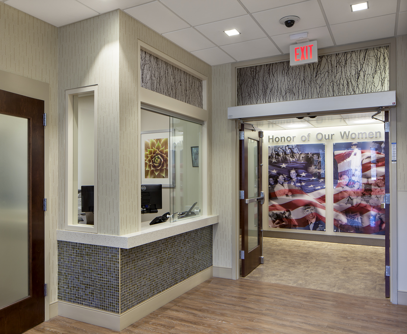 An efficient central checkin for patient clinical or counseling services.