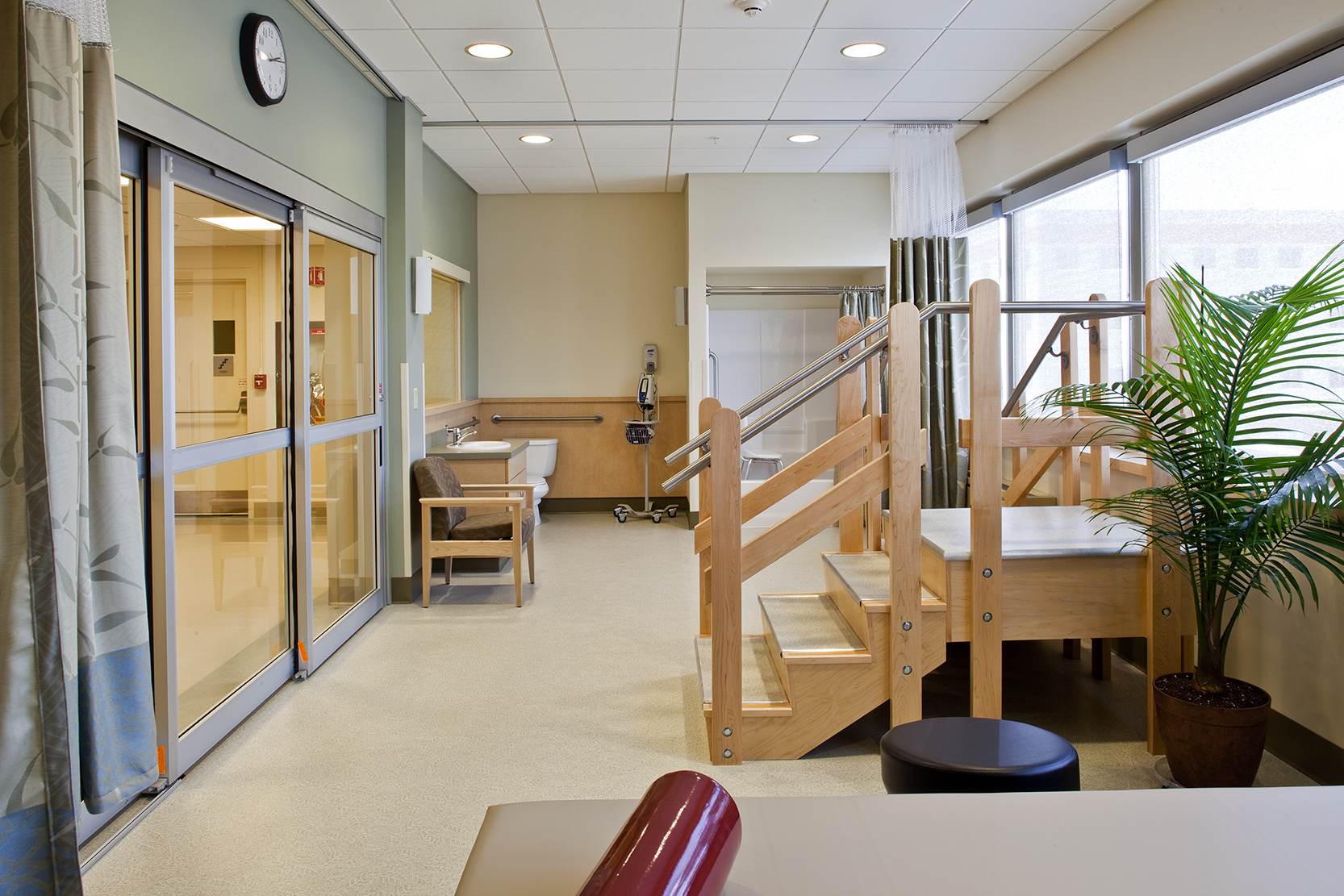 On-unit physical therapy
