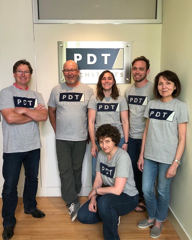 Friday afternoon greetings from the PDT crew!  #pdtarchs_me