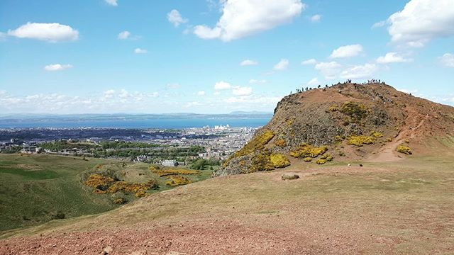 """Took our fitness outside today for some trails at Arthur's Seat. Missing my friends at goCrossfit!"" - coach Brody #gocrossfit #edinburgh #scotland"
