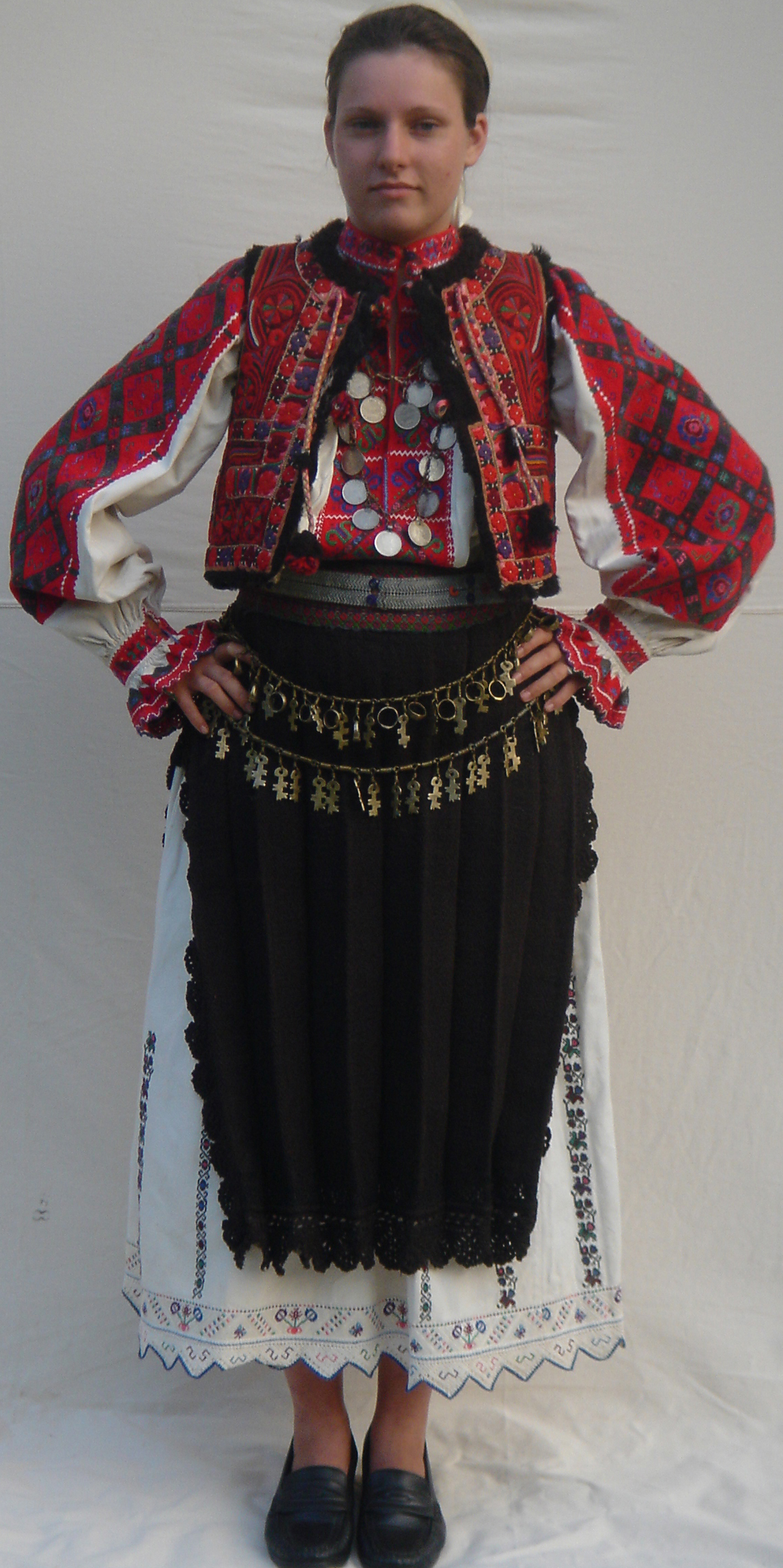 Romanian Woman's Costume