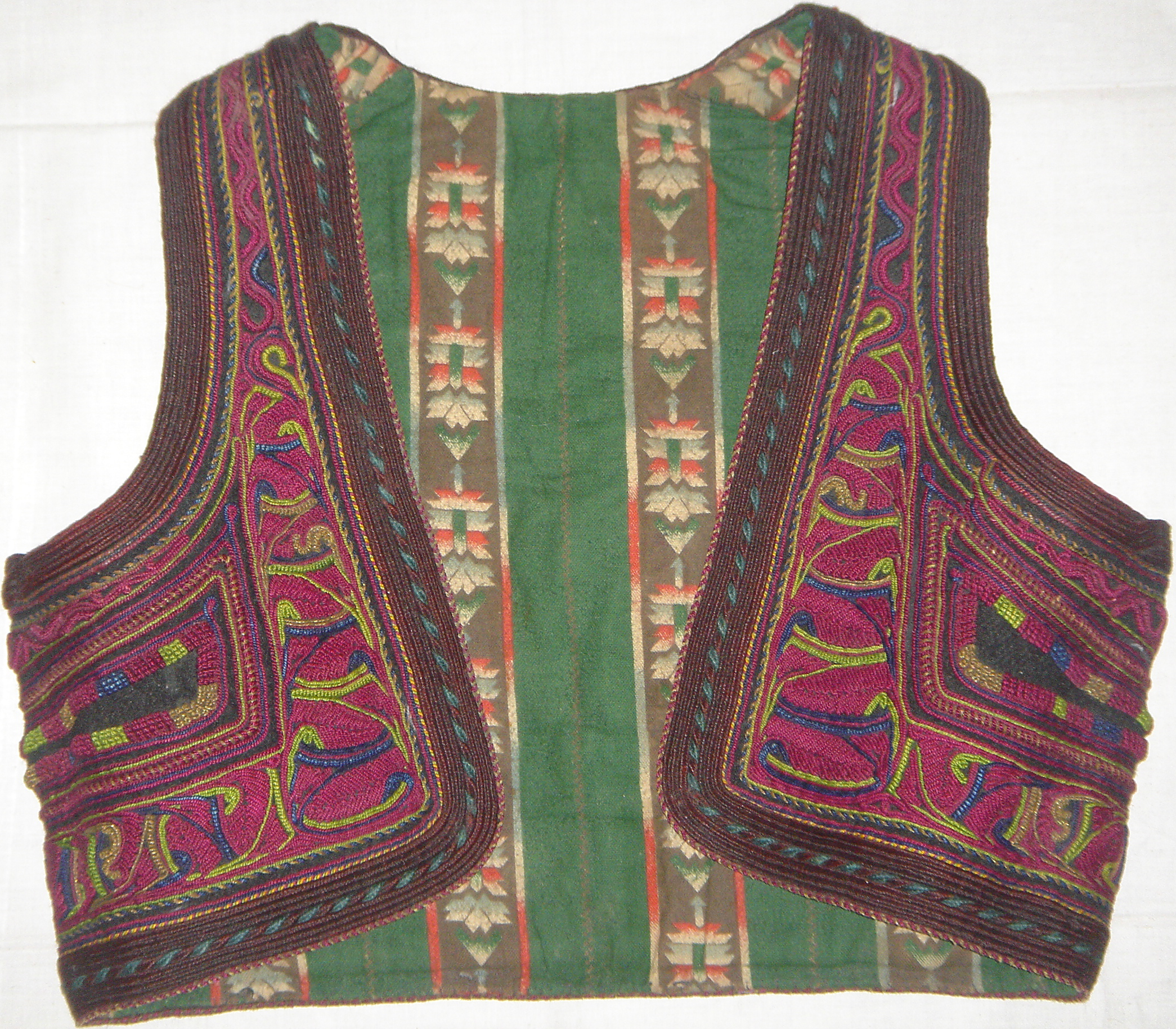 Macedonian Vest, Ilic (front)