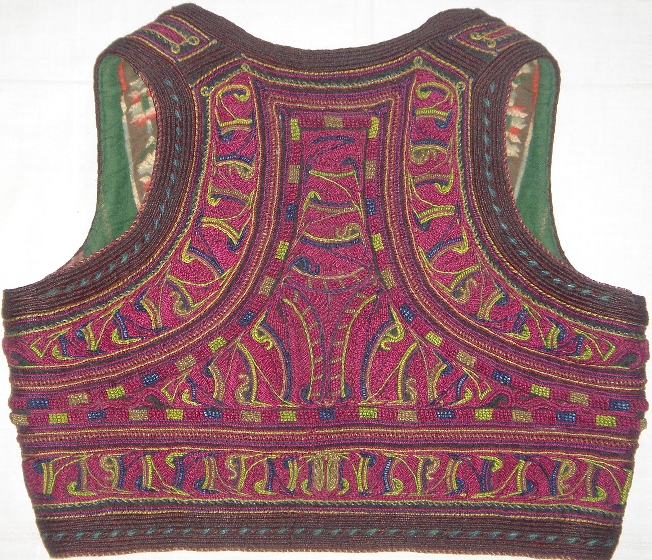 Macedonian Vest, Ilic (back)