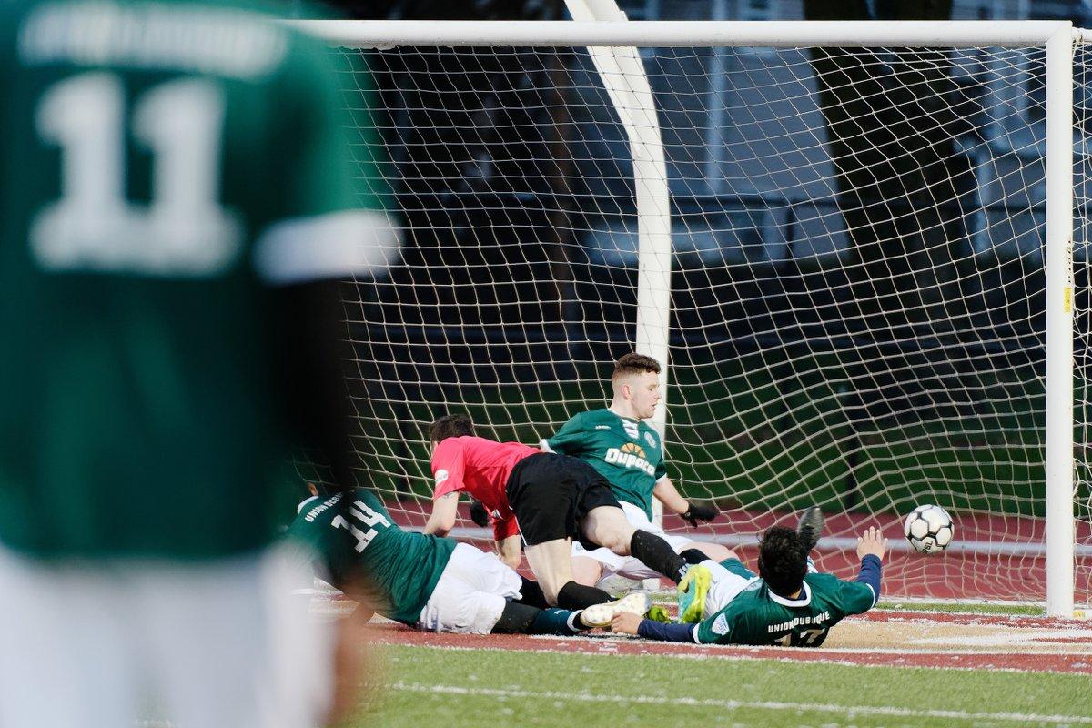 The goal mouth scramble that immediately preceded Cedar Rapids first goal