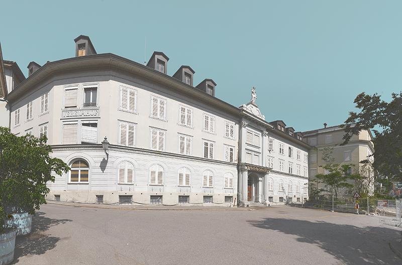 Bild Villa Nova Architekten AG - Kurplatz mit Verenahof