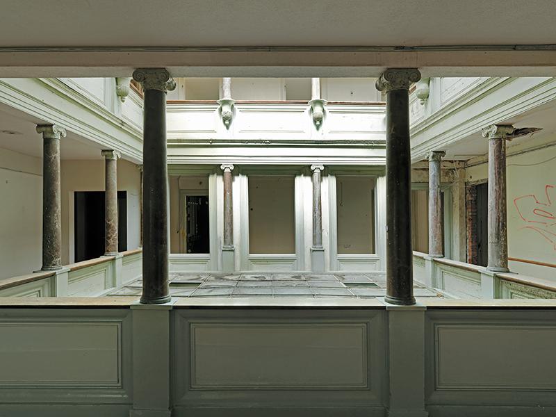 Bild Villa Nova Architekten AG - Lichthof im Verenahof
