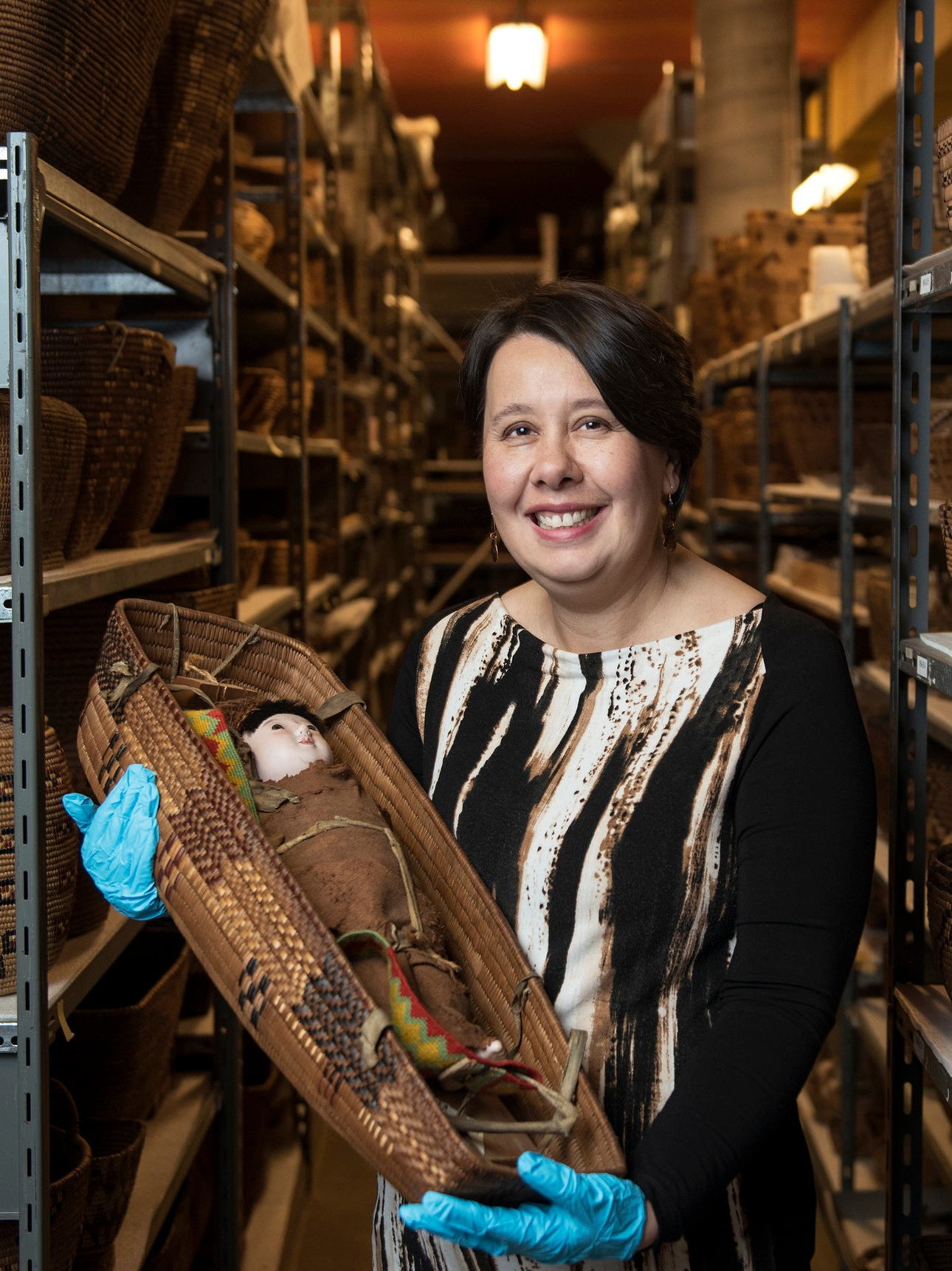 Sharon Fortney, Curator, Indigenous Collections and Engagement at Museum of Vancouver.