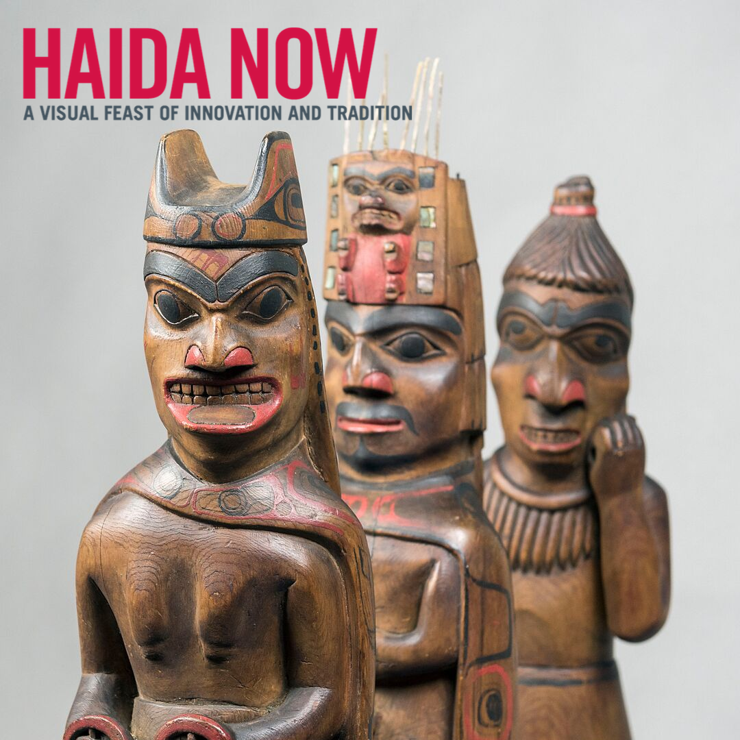 Haida NowA Visual Feast of Innovation and Tradition - Gallery Tours Friday - Monday at 11:30 and 1:30