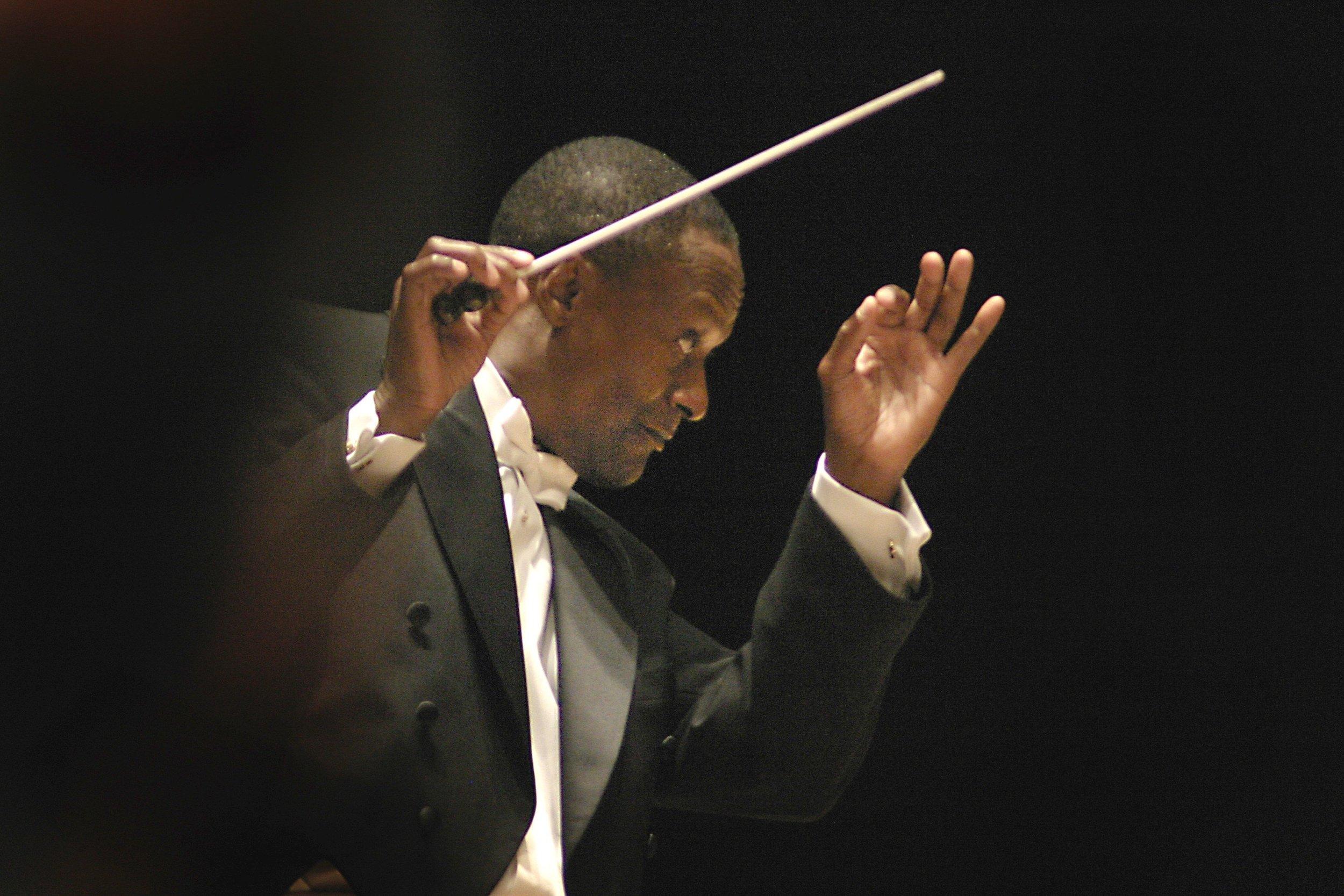 Thomas Wilkins Principal ConductorThe Hollywood Bowl Orchestra. -