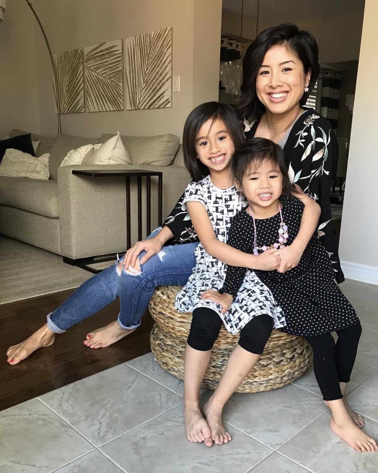 Denise and her two beautiful daughters.