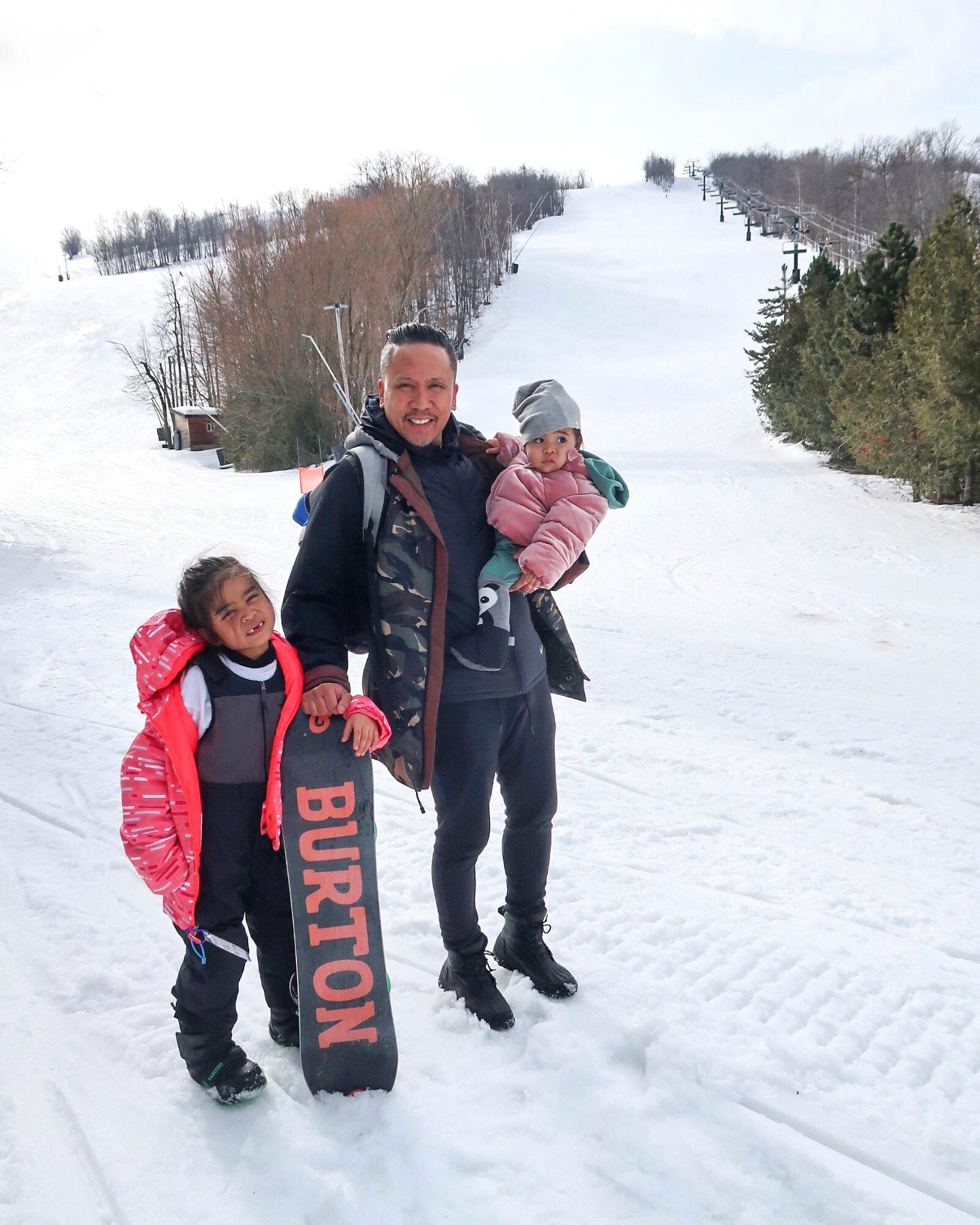 Family fun on the slopes!