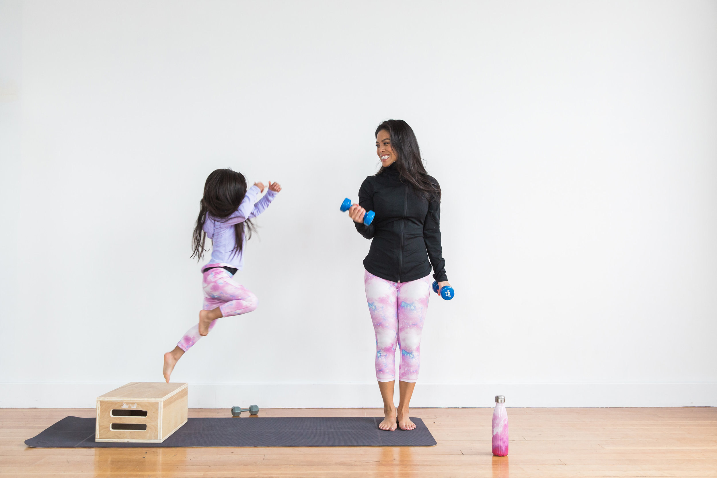 Home Workouts For the Win — No Tummy Mommy