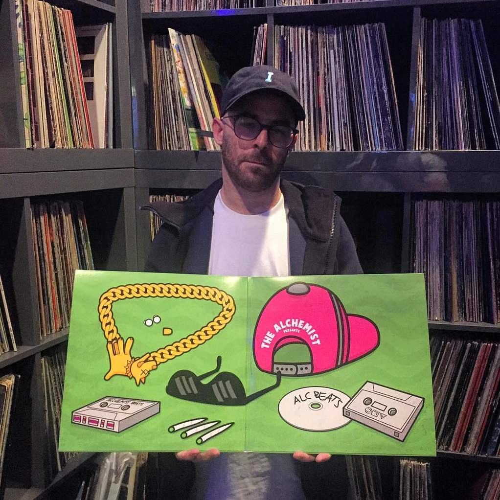 "THE ALCHEMIST W/ THE ""RAPPER'S BEST FRIEND 4"" VINYL"