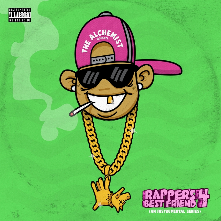 "THE ALCHEMIST'S ""RAPPER'S BEST FRIEND 4"" COVER ART"
