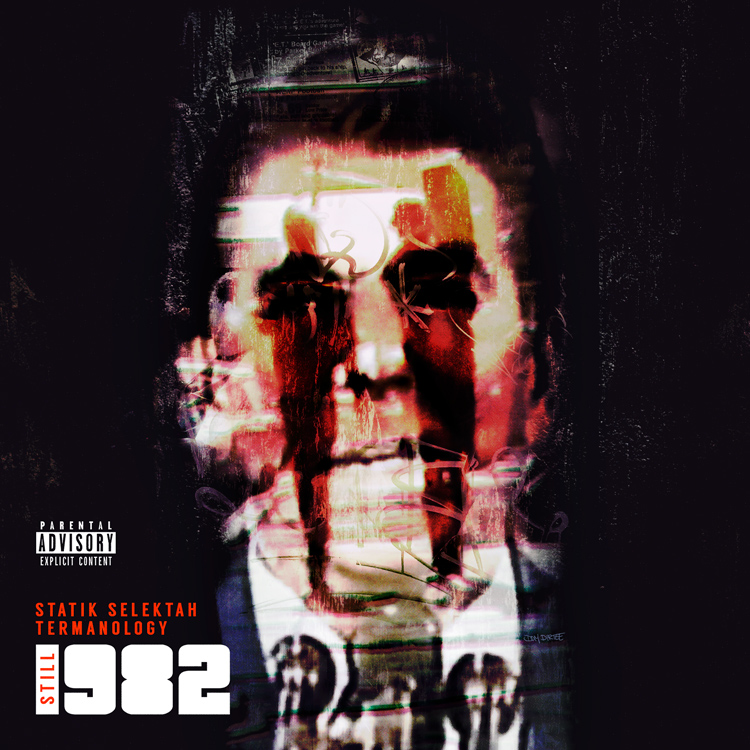 """STILL 1982"" ALBUM COVER BY DOM DIRTEE"
