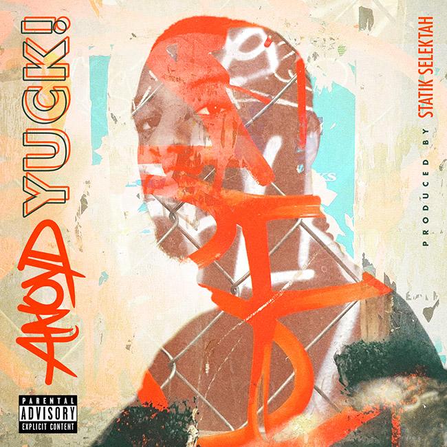 "ANOYD & STATIK SELEKTAH ""YUCK!"" ALBUM COVER BY DOM DIRTEE"