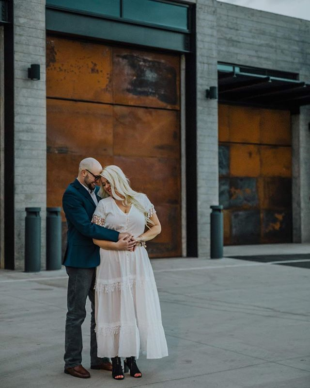 It's just a garage door, said no photographer ever. The sweetest couple we had a pleasure of working with yesterday. So excited for an October fairytale with Chelsea & Ryan!  #adventureseeker #redrocks #weddingphotography #engagementphotos #mountainwedding #mountainphotography #denverbrides #denverweddings #coloradowedding