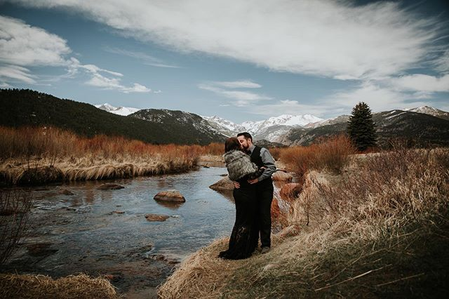 We had a gorgeous elopement in Estes this morning 😍❤️ #coloradoelopementphotographer #coloradoelopements #rmnpadventure #adventure #estesparkcolorado