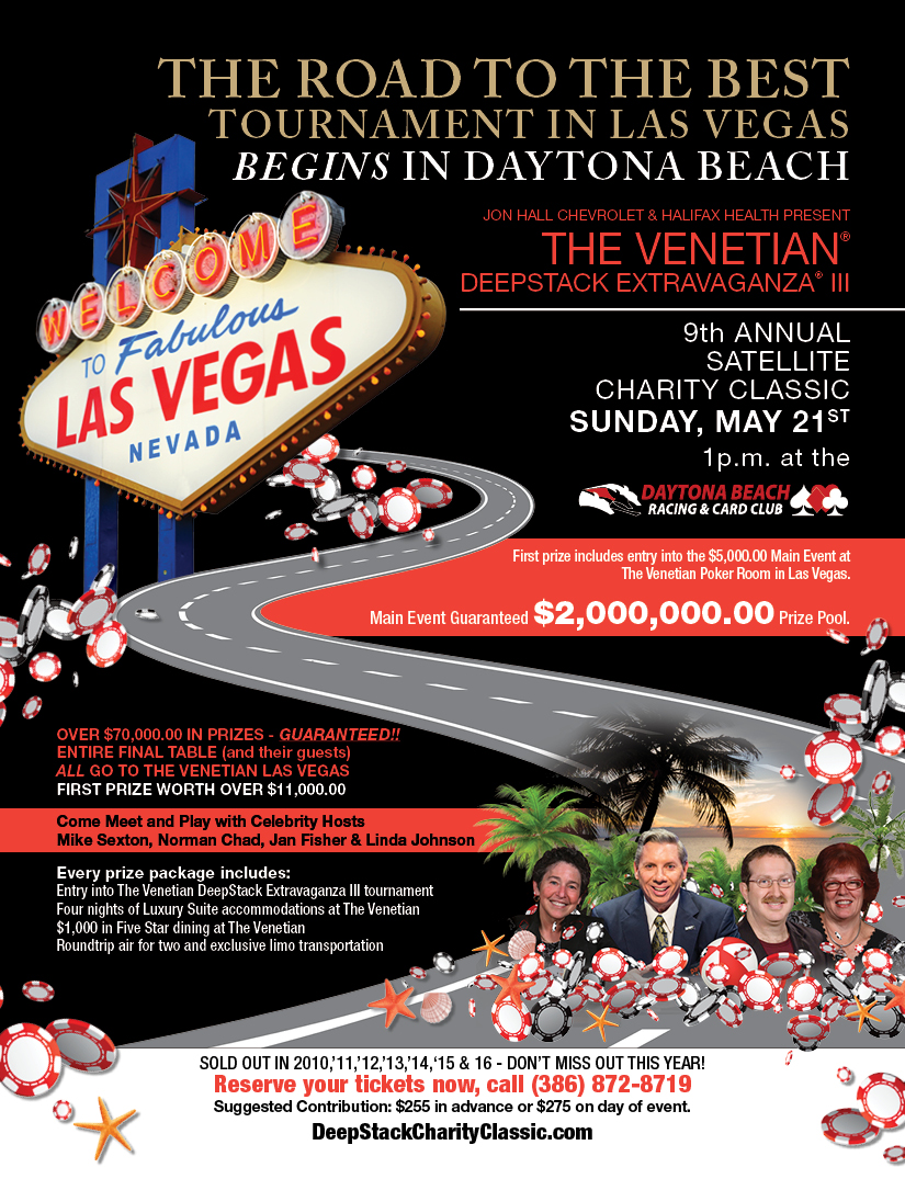 Deep Stack Charity Event