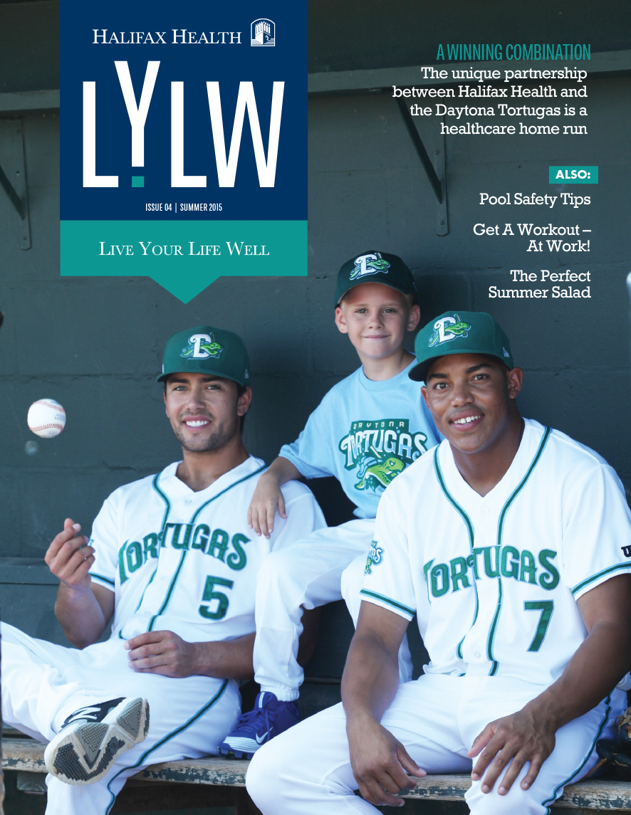 Live Your Life Well Magazine  Design: Larry Bush Media  Photo: Greg Hunter