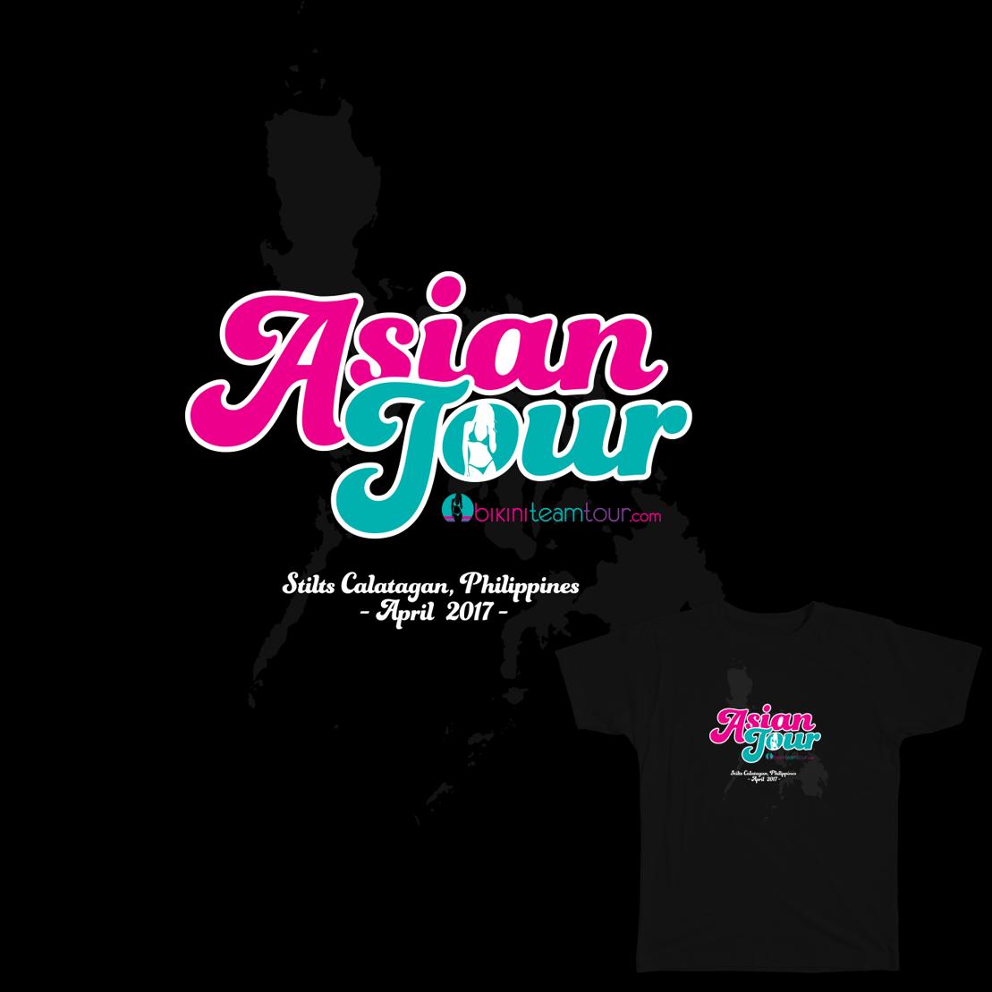Bikini Team- 2017 Tour Tee Design