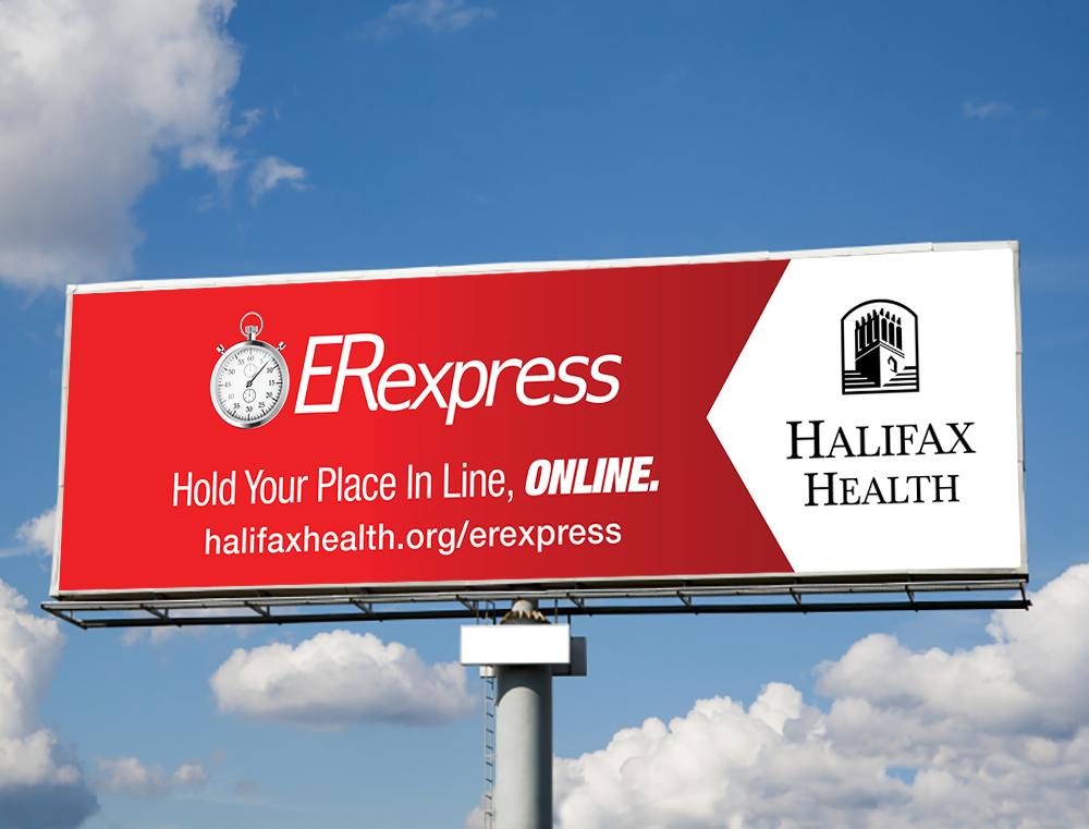 Halifax Hospital  Creative Director: Galen Horton  Designer: Greg Hunter