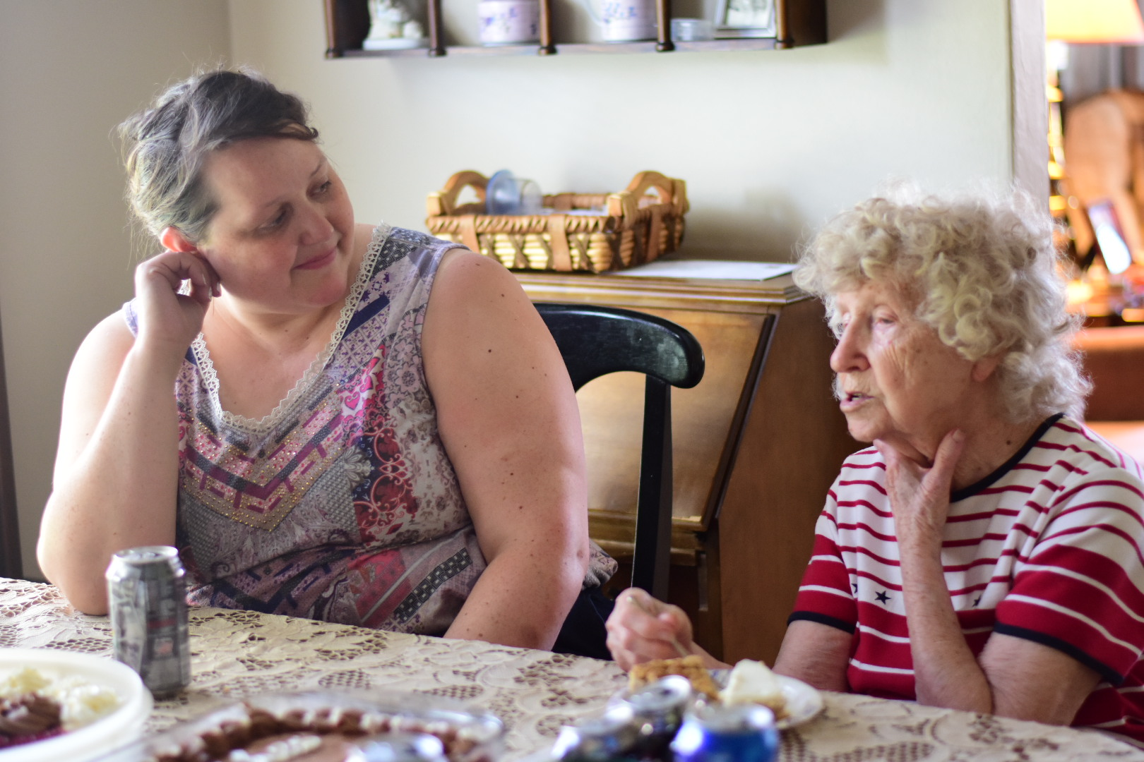 Aunt Stephanie and Great Grandma Stark