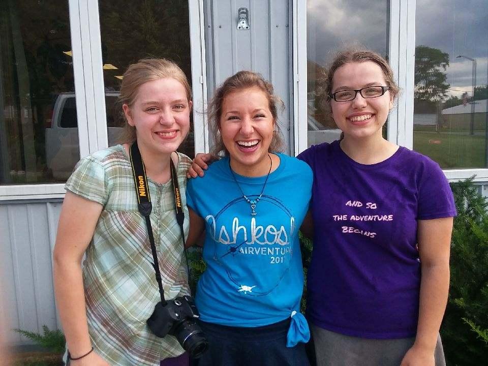 Beth, Joanna and Ruth