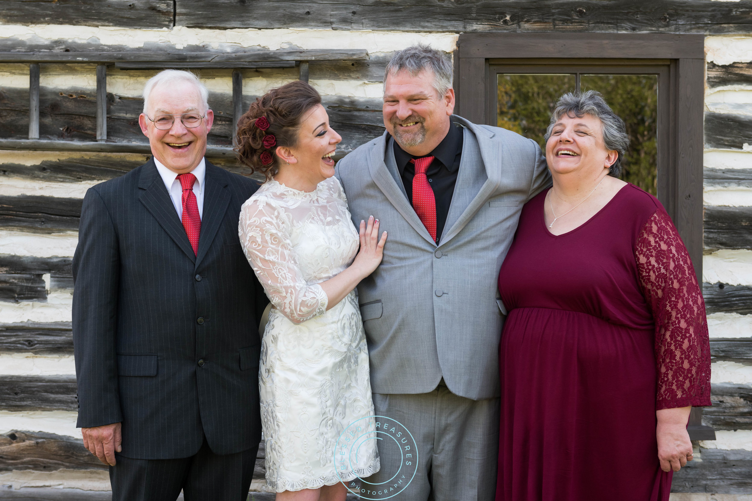Mansfield township pioneer church crystal falls michigan wedding family picture