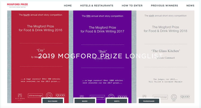 Winner of the Mogford Short Story Prize 2019 — Elisabeth
