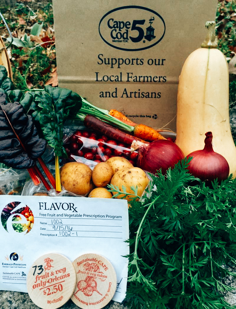 The FlavoRx pilot study provided at-risk patients with prescriptions worth $30 at a farmer's market.  FRANCIE RANDOLPH /SUSTAINABLE CAPE