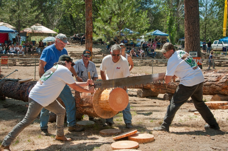 NORTH FORK LOGGERS JAMBOREE pHOTO BY NANCY ROBBINS PHOTOGRAPHY